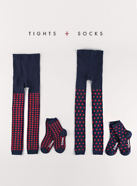 <font color=#8e5b69>* JKIDS 2016 *</font> <br> Ppeuang tights socks set
