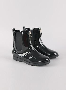 <font color=#8e5b69>* JKIDS 2016 *</font> <br> Enamel band boots
