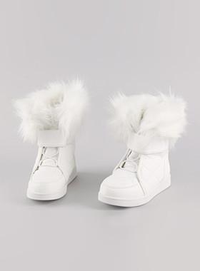 <font color=#8e5b69>* JKIDS 2016 *</font> <br> Pure Fur Boots