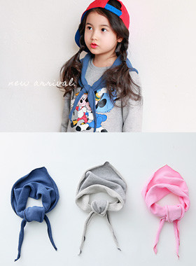 "<font color=#8e5b69>* JKIDS 2016 *</font> <br> Jenny triangular scarf <br> <font color=""#9f9f9f"">♡ ♡ attractive scarf <br> Good quality cotton with jjuri!</font>"
