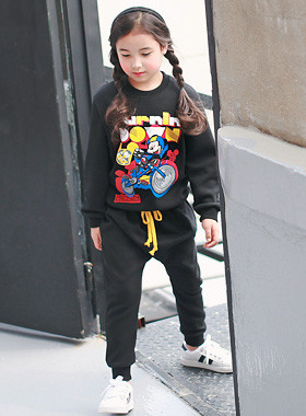 """<font color=#8e5b69><font color=#8c4458>*</font> JKIDS 2016 F / W *</font> <br> Mickey upper and lower motor SET <br> <font color=""""#9f9f9f"""">* The cute, comfortably * <br> * Daily wanso down SET *</font>"""