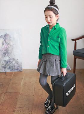"<font color=#8e5b69><font color=#8c4458>*</font> JKIDS 2016 F / W *</font> <br> Embroidered corduroy shirt <br> <font color=""#9f9f9f"">♡ ♡ cute mini embroidery <br> Neat shirt collar neck</font> <br> <font color=""#a84c59""><b>* 30% SALE *</b></font>"