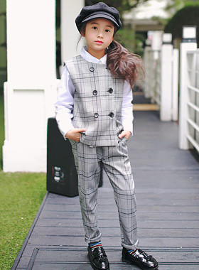 "<font color=#4bb999>* JKIDS 2017 S / S *</font> <br> Fine check down SET <br> <font color=""#9f9f9f"">♡ ♡ Best Boy pit down <br> Stylish check pattern!</font>"