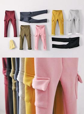 """<font color=#edb200>* JKIDS 2017 F / W *</font> <br> Time Pocket Pants <br> <font color=""""#9f9f9f"""">♡ warm warm affection ♡ <br> Boulder mink fur lining!</font>"""