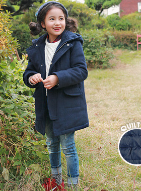 """<font color=#8e5b69><font color=#8c4458>*</font> JKIDS 2016 F / W *</font> <br> Lua quilted coat with hood <br> <font color=""""#9f9f9f"""">♡ ♡ casual hood detail <br> Quilted lining!</font> <br> <font color=""""#a84c59""""><b>* SALE *</b></font>"""