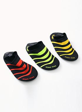 <font color=#b784c6>* JKIDS 2016 *</font> <br> Striped aqua shoes
