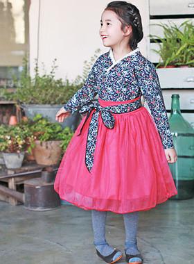 <font color=#b784c6><font color=#c498d1>*</font> JKIDS 2016 S / S *</font> <br> Cherry Blossom Costume SET