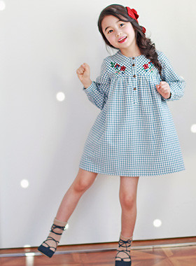 "<font color=#4bb999>* JKIDS 2017 S / S *</font> <br> Twiggy Dresses <br> <font color=""#9f9f9f"">♡ ♡ Lovely Baby Pit <br> Advanced Embroidery Flower!</font>"