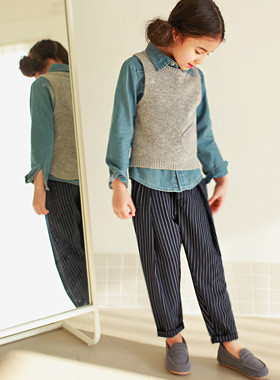 "<font color=#4bb999>* JKIDS 2017 S / S *</font> <br> Turn-up slacks <br> <font color=""#9f9f9f"">♡ ♡ stylish fit slacks <br> Comfortable Hair band!</font>"