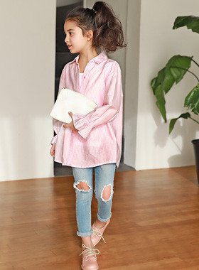 "<font color=#4bb999>* JKIDS 2017 S / S *</font> <br> Lily Long Shirt <br> <font color=""#9f9f9f"">♡ ♡ romantic ruffle sleeve <br> Ronghan length sense!</font>"