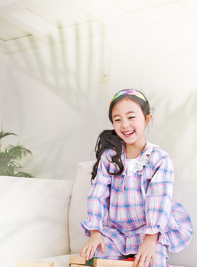 "<font color=#4bb999>* JKIDS 2017 S / S *</font> <br> Sister Pajama SET <br> <font color=""#9f9f9f"">* Cute check printing * <br> * The tomboy pajamas party! *</font>"