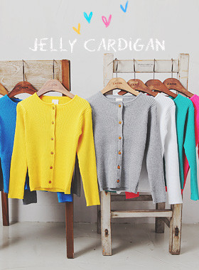 "<font color=#4bb999>* JKIDS 2017 S / S *</font> <br> Jelly knit cardigan <br> <font color=""#9f9f9f"">* Daily New Look * <br> * It is beautiful all over even a little *</font>"