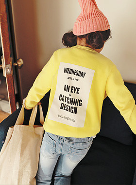 "<font color=#4bb999>* JKIDS 2017 S / S *</font> <br> One on one Wednesday <br> <font color=""#9f9f9f"">♡ ♡ back big printing <br> Fresh yellow color!</font>"