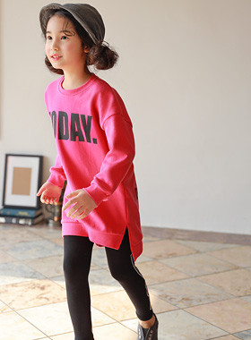 "<font color=#4bb999>* JKIDS 2017 S / S *</font> <br> Today Tee Dress <br> <font color=""#9f9f9f"">* Toktok! Cherry pink * <br> Marion * * stylish lines</font>"