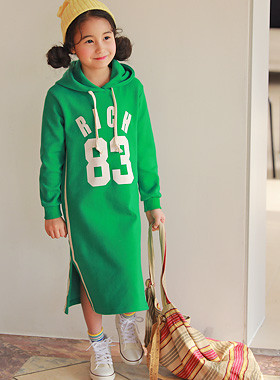 "<font color=#4bb999>* JKIDS 2017 S / S *</font> <br> Hood Rich Dress <br> <font color=""#9f9f9f"">* Sporty trendy look * <br> * Dress neat neat hoodie *</font>"