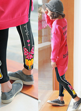 "<font color=#4bb999>* JKIDS 2017 S / S *</font> <br> Leggings and high heels <br> <font color=""#9f9f9f"">* Pert! Leggings - reverse <br> Genuine Disney * *</font>"