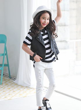 "<font color=#4bb999>* JKIDS 2017 S / S *</font> <br> Spirit Rider Best <br> <font color=""#9f9f9f"">* Just a little over even styleUP *</font>"
