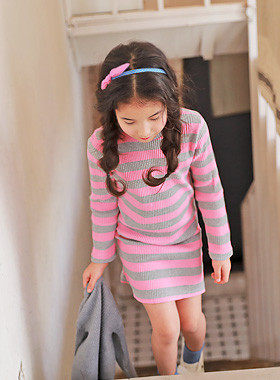 "<font color=#4bb999>* JKIDS 2017 S / S *</font> <br> Pudding Piece dangara <br> <font color=""#9f9f9f"">* Slim Fit * Corrugated Dress <br> * * Slim to confidently</font>"