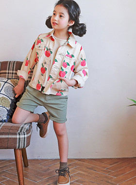 "<font color=#4bb999>* JKIDS 2017 S / S *</font> <br> Apple jacket <br> <font color=""#9f9f9f"">♡ ♡ refreshing youthful jacket <br> Ganjeolgi cute, Outer!</font>"