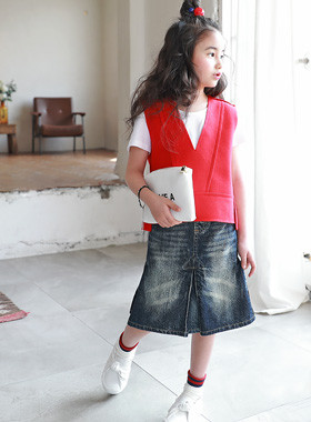 "<font color=#4bb999>* JKIDS 2017 S / S *</font> <br> Issues denim skirt <br> <font color=""#9f9f9f"">♡ ♡ pretty spread sweip <br> Popularity of denim skirt!</font>"
