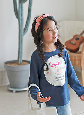 "<font color=#4bb999>* JKIDS 2017 S / S *</font> <br> Record Cotton Tee <br> <font color=""#9f9f9f"">Good quality material ♡ ♡ <br> Daily tisyeot!</font>"