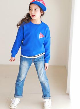 """<font color=#4bb999>* JKIDS 2017 S / S *</font> <br> Bonbon denim <br> <font color=""""#9f9f9f"""">* Vintage Blue * <br> * Chic Vintage Look -</font>"""