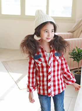"<font color=#4bb999>* JKIDS 2017 S / S *</font> <br> Riva Check Shirt <br> <font color=""#9f9f9f"">♡ ♡ unique colors <br> Daily Shirt!</font>"