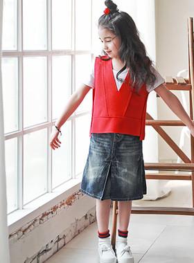 """<font color=#4bb999>* JKIDS 2017 S / S *</font> <br> Vanessa Best Wool <br> <font color=""""#9f9f9f"""">V neckline trim ♡ ♡ <br> Free matching underwear!</font>"""
