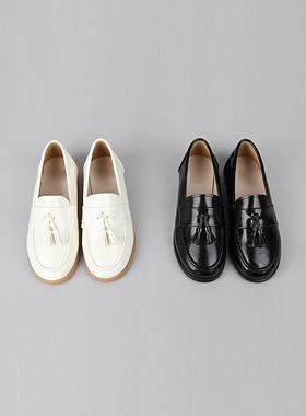 <font color=#4bb999>* JKIDS 2017 *</font> <br> Enamel tassel loafers