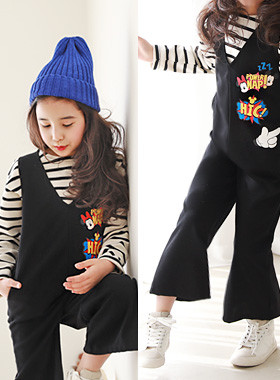 "<font color=#4bb999>* JKIDS 2017 S / S *</font> <br> Hicks Jumpsuits <br> <font color=""#9f9f9f"">* * Chic black jump suit <br> Cute, cute, character * to *</font>"