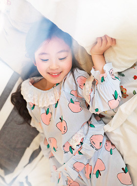 "<font color=#4bb999>* JKIDS 2017 S / S *</font> <br> Pitch pajamas SET <br> <font color=""#9f9f9f"">Fresh fruit pattern ♡ ♡ <br> South, between good girl!</font>"