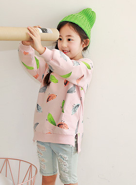 "<font color=#4bb999>* JKIDS 2017 S / S *</font> <br> Lucien One on one slit <br> <font color=""#9f9f9f"">♡ ♡ variegated printing <br> Practical amount of pocket!</font> <br> <font color=""#a84c59"">* * Wearing delay <br> 27 days Estimate storage <br></font>"