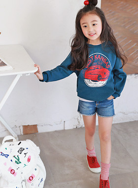 "<font color=#4bb999>* JKIDS 2017 S / S *</font> <br> Best One on one pocket <br> <font color=""#9f9f9f"">♡ ♡ front Vintage Printing <br> Practical pockets on both sides!</font> <br> <font color=""#a84c59"">* * Wearing delay <br> 27 days Estimate storage <br></font>"