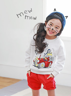 "<font color=#4bb999>* JKIDS 2017 S / S *</font> <br> De Cai One on one <br> <font color=""#9f9f9f"">Cute, cartoon printing * * <br> * Daily * One on one day wearing peun</font>"