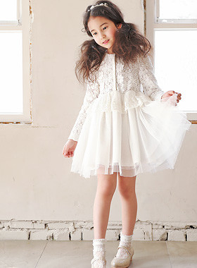"<font color=#4bb999>* JKIDS 2017 S / S *</font> <br> Sejyan lace dress <br> <font color=""#9f9f9f"">Special Occasion Dresses ♡ ♡ <br> + Good Quality Lovely!</font>"