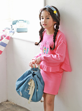 "<font color=#4bb999>* JKIDS 2017 S / S *</font> <br> Ice down SET <br> <font color=""#9f9f9f"">* Pingku pingku over yeppeujyo! * <br> * Lovely from head to toe *</font>"