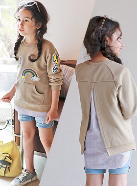 """<font color=#4bb999>* JKIDS 2017 S / S *</font> <br> Oops Shirt One on one <br> <font color=""""#9f9f9f"""">* Easily layered look * <br> * Daily Unique one-to-one *</font>"""