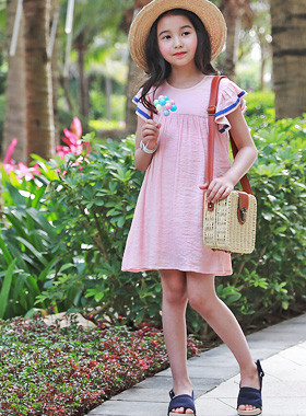 """<font color=#4bb999>* JKIDS 2017 S / S *</font> <br> Angjyu Ruffle Dress <br> <font color=""""#9f9f9f"""">* Every day * comeliness explosion <br> * Summer dress you want to have *</font>"""