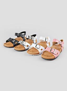 <font color=#4bb999>* JKIDS 2017 *</font> <br> Two buckle sandals