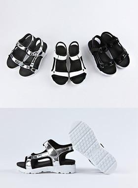 <font color=#4bb999>* JKIDS 2017 *</font> <br> Wingki patent sandals