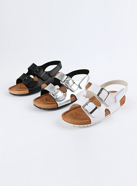 <font color=#4bb999>* JKIDS 2017 *</font> <br> Stella Buckle Sandals