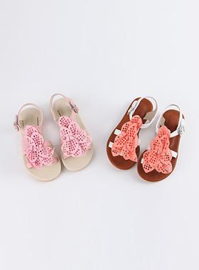 <font color=#4bb999>* JKIDS 2017 *</font> <br> Laser Flower Sandals