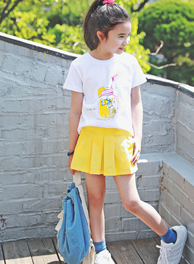 "<font color=#4bb999>* JKIDS 2017 S / S *</font> <br> Mango pleated skirt <br> <font color=""#9f9f9f"">* There are beautiful girls * <br> * Out of stock skirt skirts * <br> * Please order one size allowance *</font>"
