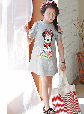 "<font color=#4bb999>* JKIDS 2017 S / S *</font> <br> Mini Trip One Piece <br> <font color=""#9f9f9f"">♡ Open shoulder ♡ <br> Cute Mini Character!</font>"