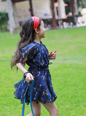 "<font color=#4bb999>* JKIDS 2017 S / S *</font> <br> Arbo Chiffon Dress <br> <font color=""#9f9f9f"">* Lovely flower pattern * <br> * Goddess adventure chiffon dress *</font>"