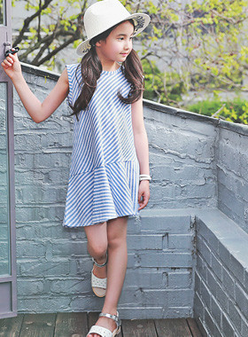 "<font color=#4bb999>* JKIDS 2017 S / S *</font> <br> Feminine Dress <br> <font color=""#9f9f9f"">* Appearance high season child * <br> * Summer Dress Wearing Everyday *</font>"