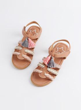 <font color=#4bb999>* JKIDS 2017 *</font> <br> Natural Ethnic Sandals