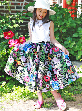 "<font color=#4bb999>* JKIDS 2017 S / S *</font> <br> Melody Long Skirt <br> <font color=""#9f9f9f"">* Let's be pretty cool * <br> * Show you only wherever you are ♥ *</font>"