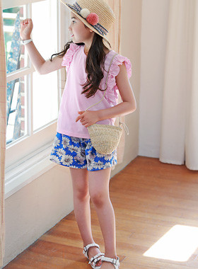 "<font color=#4bb999>* JKIDS 2017 S / S *</font> <br> Eden Flower Up and Down SET <br> <font color=""#9f9f9f"">* Daily up and down SET * <br> * Comfort is essential Lovely essential ♥ *</font>"