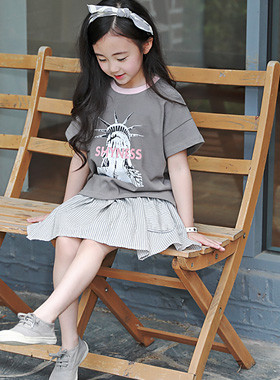 "<font color=#4bb999>* JKIDS 2017 S / S *</font> <br> Liberty Round Tea <br> <font color=""#9f9f9f"">♡ casual cotton tee <br> It's cool and cool!</font>"